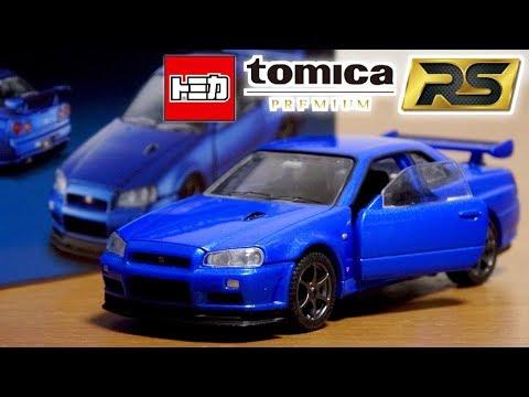 高いには理由がある。トミカ トミカプレミアムRS 日産 スカイライン GT-R V-specⅡ Nur ベイサイドブルー / NISSAN SKYLINE GT-R V-specⅡNur
