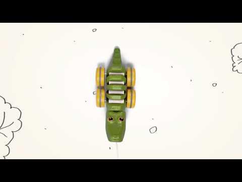 PlanToys   Dancing Aligator