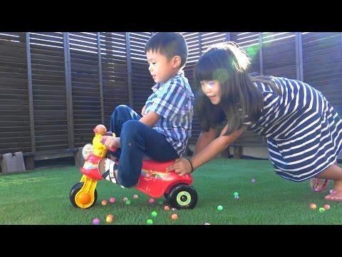アンパンマン おもちゃ わんぱくライダー 三輪車 乗り物 Anpanman Tricycle toy