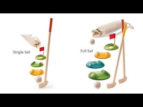 PlanToys   Mini Golf Single Set and Full Set