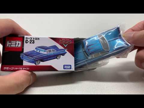 Cars Toys - Ramone TYPE Cars3 - トミカ カーズ おもちゃ 開封 C-23 ラモーン(カーズ3タイプ)