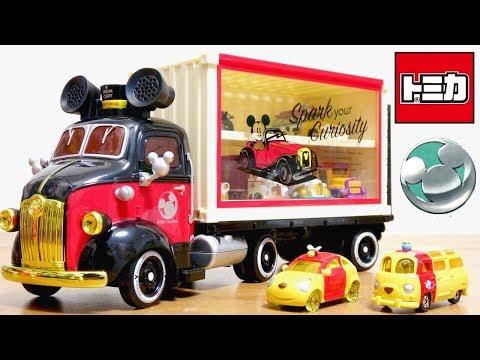 トミカ ディズニーモータース グランドドリームキャリー & コロット くまのプーさん Tomica Disney motors Grand Dream Carry