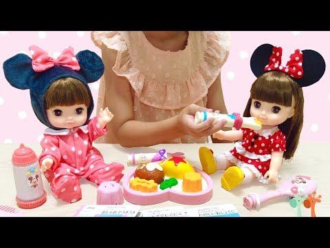 ずっと ぎゅっと レミン&ソラン 人形 おしょくじセット ディズニー / Minnie Mouse Dress Fits Remin&Solan Doll
