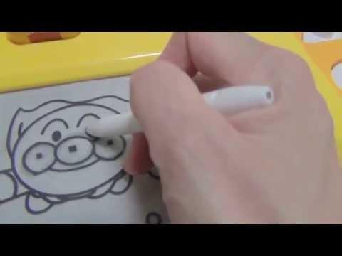 アンパンマン はじめてのらくがきデスク お絵かき☆彡 anpanman 面包超人 호빵맨